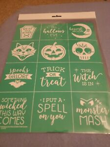 Chalk Couture Transfer  All Hallows Eve Minis NEW   size B