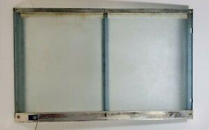 Vintage WESTINGHOUSE 7 Day Meat Keeper Shelf Glass, Plastic, Metal Parts/Repair