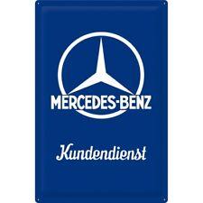 original XXL gewölbtes Blechschild: Mercedes-Benz Kundendienst 40x60 Neu + OVP