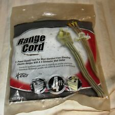 4ft Range Cord Electric Oven Stove Power Cord By CCI