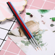 3x ultra-thin line nail art liner brush drawing painting penmanicure diy tool YL