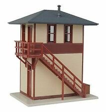 WALTHERS TRAINLINE HO SCALE TRACKSIDE SIGNAL TOWER   BN   931-810
