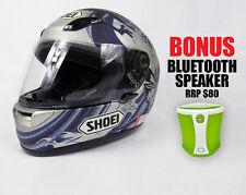 SHOEI XR1000  MOTORCYCLE HELMET MEDIUM SIZE - EX DEMO STOCK - FREE POST