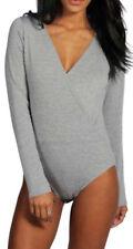 Camisas y tops de mujer de manga larga color principal gris talla M