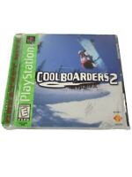 Cool Boarders 2 - Greatest Hits (Sony PlayStation 1, 1997) with Manual CIB