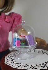 """Lovvbugg Cake Stand + French Pastry For 18"""" American Girl Doll Widest Selection"""