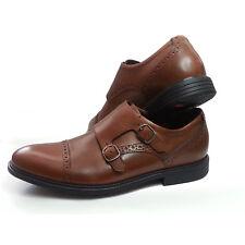 Rockport Men Size 8.5 Double Monk Brown TRUTECH shoes