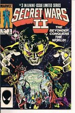Secret Wars II #3 by Marvel Comics