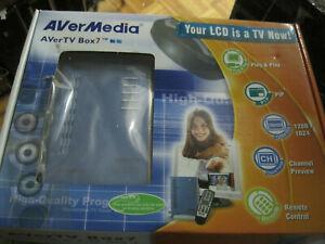 AverMedia AVerTV Box7 TV Tuner Box Live 1280x1024 P-scan & 3D-Mad...OPEN BOX