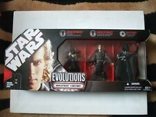 Rare Star Wars Anakin to Darth Vader Evolutions figure pack BNIB Legacy