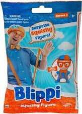 Blippi Squishy Figure Mystery Pack Bag - 1x Toy Included Youtube Star (new)