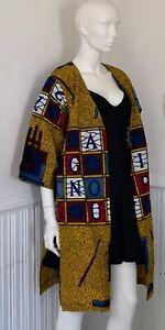 Oversized Ankara jacket