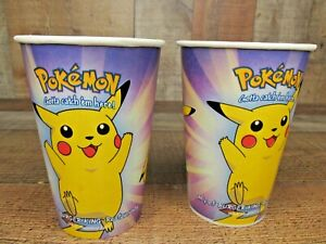 Vintage Collectible 2000 Pokemon The Movie Cup from Burger King PIKACHU