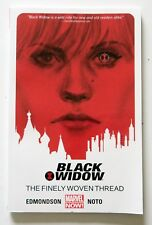 Black Widow The Finely Woven Thread Vol. 1 Marvel Now Graphic Novel Comic Book