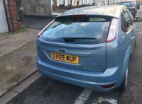 Ford focus zetec 1.6 petrol 2009