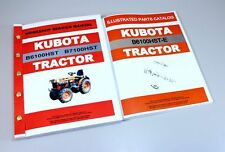 KUBOTA B6100HST-E TRACTOR SERVICE REPAIR MANUAL PARTS CATALOG TECH SHOP BOOK