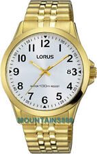 LORUS Watch,Expansion Bracelet Band,ScrewCrown,St/Steel,Date,WR100,Men,RS970CX-9