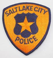 Rare Vintage 1970 Salt Lake City Police Embroidered Patch