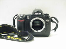 Nikon D70  6.1MP Digital SLR Camera Black Body Only