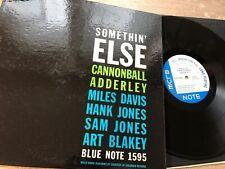 Cannonball Adderley Something Else Vinyl LP Blue Note BLP 1595 US EAR DG RVG