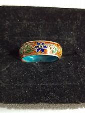 Ring mit Emaille