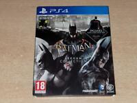 Batman Arkham Collection Steelbook Edition PS4 Playstation 4 **FREE UK POSTAGE**
