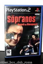 THE SOPRANOS ROAD TO RESPECT I SOPRANO USATO OTTIMO STATO PS2 EDIZIONE ITA 31032