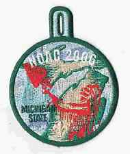 2006 National Order of the Arrow Michigan State Dangle Patch 200247