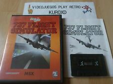 Msx 737 Flight simulator edition spanish
