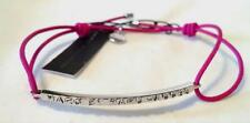 NWT $42  MARC BY MARC JACOBS Hot Pink Silver Thread Bracelet