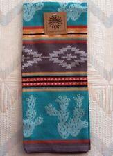 Cactus Jacquard Tea Towel Southwest Craze Pattern Kay Dee Cotton