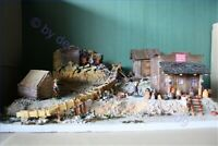 Wild West Potters Mine 70519, Diorama, Goldsucher, Fertigmodell in Composite