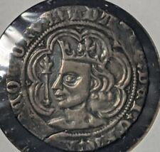 David II 1357-67 Scotland Groat Silver Coin  VF+  FREE SHIPPING