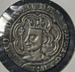 David II 1357-67 Scotland Groat Silver Coin  VF+  FREE SHIPPING