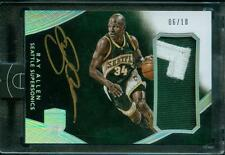 6/10 Ray Allen 2014-15 Panini Eminence Jumbo Game-Worn Patch Auto Autograph