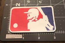 Mlb Parody Logo Humor Skateboard Laptop Guitar Decal Stickers