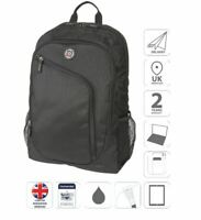 "15.6"" Laptop and iPad School College Travel Business Backpack Bag Black is0401"