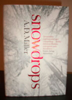 Snowdrops by A.D. Miller (2011) HC SIGNED U.K. 1ST/1ST