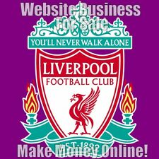 LIVERPOOL Website Business Earn £56 A SALE|FREE Domain|FREE Hosting|FREE Traffic