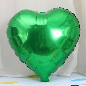 5Pcs18''- Five-Pointed Star Heart Shaped Foil Balloon Birthday Party Decoration
