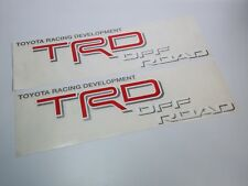 Toyota Racing Development Tacoma Tundra TRD Off Road decal sticker Set 2004–2015