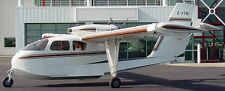 Trident TR-1 Trigull Airplane Mahogany Kiln Wood Model Large New