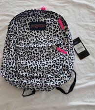 Jansport Superbreak backpack White Leopard Original