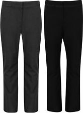 BACK TO SCHOOL GIRLS SCHOOL TROUSERS EX BHS BLACK CHARCOAL NEW SIZE 4-12 YEARS