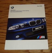 Original 2000 BMW M Power Deluxe Sales Brochure 00 Roadster M3 M5