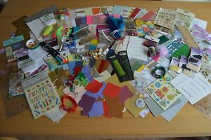 Job Lot Craft Clear Out for Card Making Massive Bundle