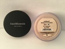 BARE MINERALS ORIGINAL SPF 15 FOUNDATION - FAIR C10 8g -  SHIP 3PM