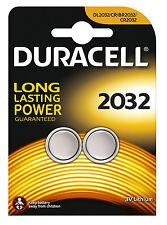 Duracell Cr2032 Batteries X 2 3v Lithium Coin Cell Button