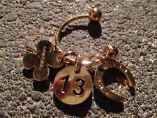 Porte sac porte bonheur bijoux de sac Lancel & porte clé La bagagerie x2