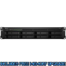 Synology RackStation RS1219+ 2tb SSD NAS Server 4x500gb Crucial MX500 Drives